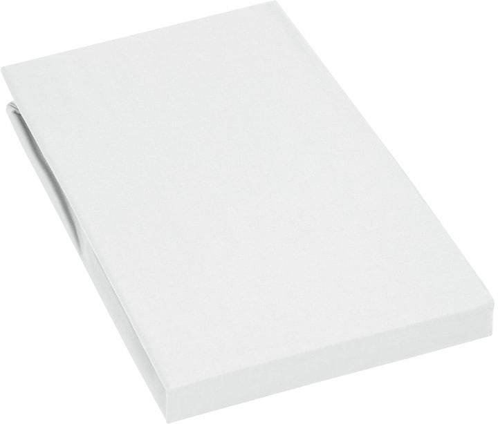 PENELOPE Satin-Fixleintuch 451043431010 Farbe Weiss Grösse B: 90.0 cm x H: 200.0 cm Bild Nr. 1
