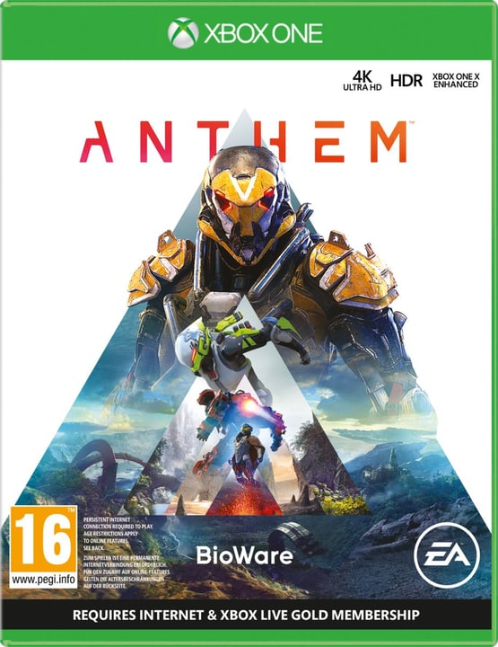 Xbox One - Anthem Box 785300136922 N. figura 1