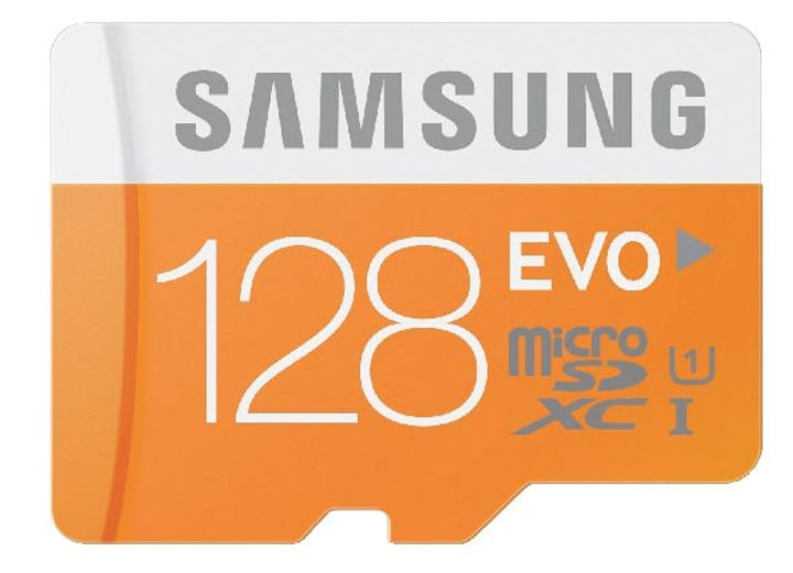 microSDXC Card Evo 128Go Micro SD Samsung 797951300000 Photo no. 1