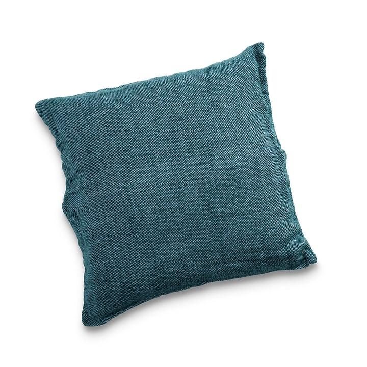 MITALI Coussin décoratif 378075100000 Couleur Turquoise Dimensions L: 50.0 cm x H: 50.0 cm Photo no. 1