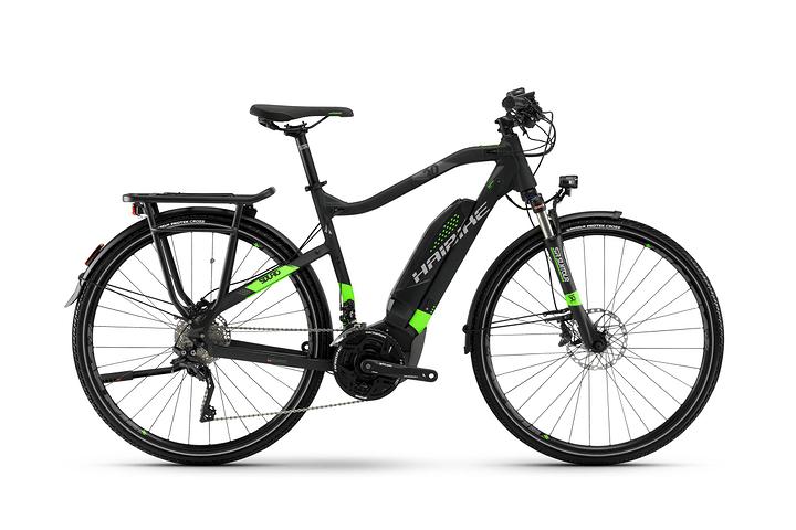 """SDURO Trekking 6.0 Herren 28"""" E-Bike Haibike 463322805220 Farbe schwarz Rahmengrösse 52"""