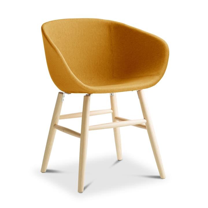 SEDIA Chaise avec accoudoirs 366186000000 Dimensions L: 45.0 cm x P: 58.0 cm x H: 87.5 cm Couleur Jaune Photo no. 1
