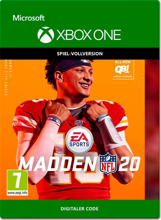 Xbox One - Madden NFL 20 Download (ESD) 785300146117 Photo no. 1