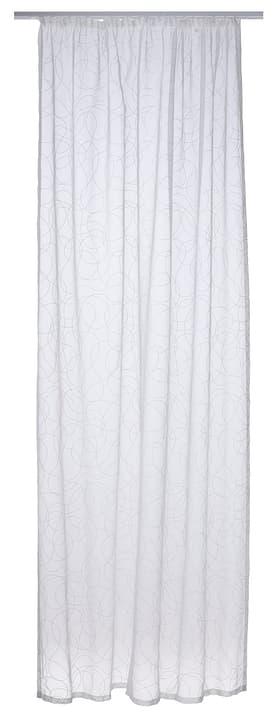 MASO Fertigvorhang Tag 430265621710 Farbe Weiss Grösse B: 150.0 cm x H: 250.0 cm Bild Nr. 1