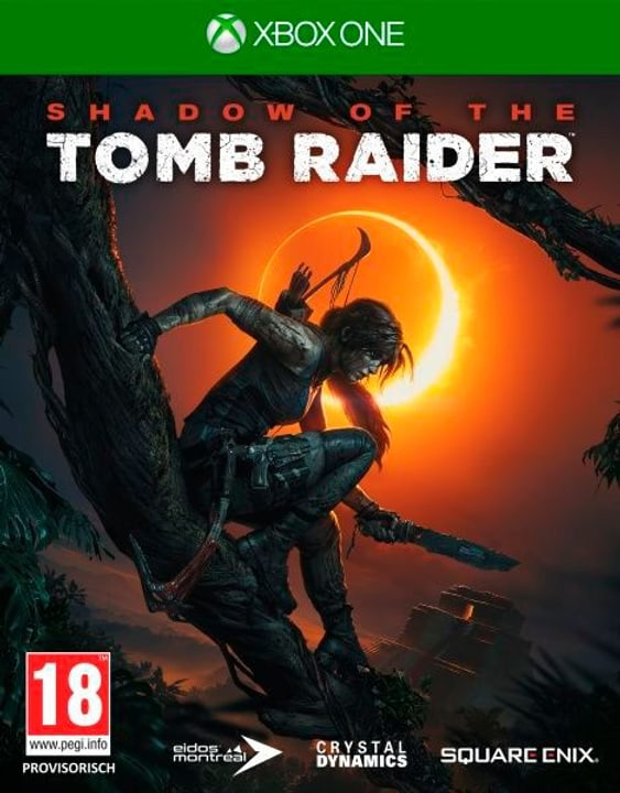 Xbox One - Shadow of the Tomb Raider (D) Box 785300136166 Langue Allemand Plate-forme Microsoft Xbox One Photo no. 1