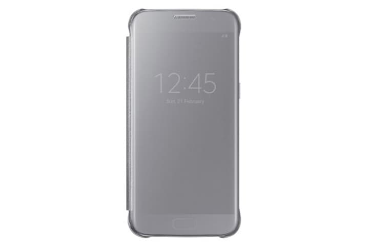Clear View Cover argent Coque Samsung 798078600000 Photo no. 1