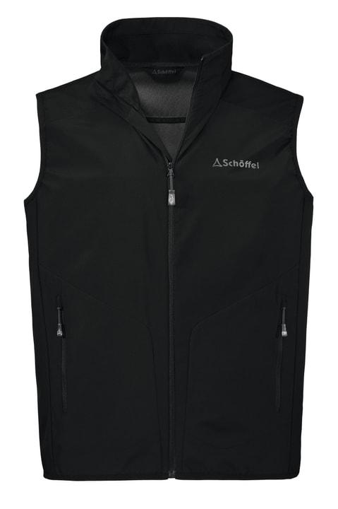 Active Vest Giacca Softshell da uomo Schöffel 461088105020 Colore nero Taglie 50 N. figura 1