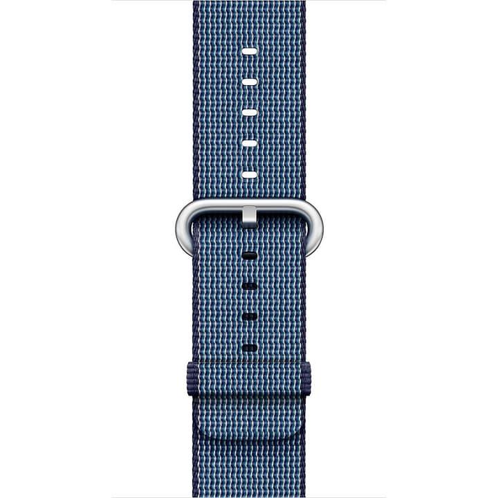 42 mm Armband aus gewebtem Nylon, Mitternachtsblau Apple 785300128941 Bild Nr. 1