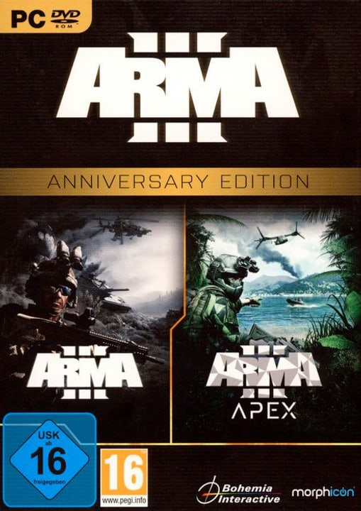 PC - ARMA III - Anniversary Edition D Physique (Box) 785300130830 Photo no. 1