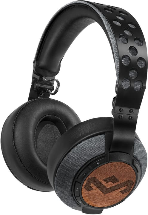 Liberate XLBT - Midnight Cuffie Over-Ear House of Marley 785300132076 N. figura 1