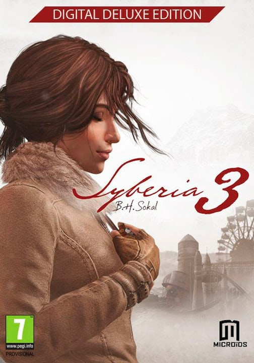 PC/Mac - Syberia 3 - Deluxe Edition Download (ESD) 785300139763 N. figura 1