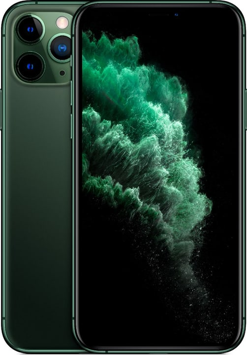 apple iphone 11 pro 512gb midnight green smartphone. Black Bedroom Furniture Sets. Home Design Ideas