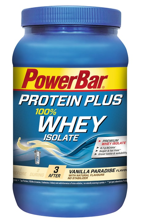 Protein Whey Isolate Bevanda in polvere ricca di proteine Powerbar 463008303700 Gusto Vaniglia N. figura 1
