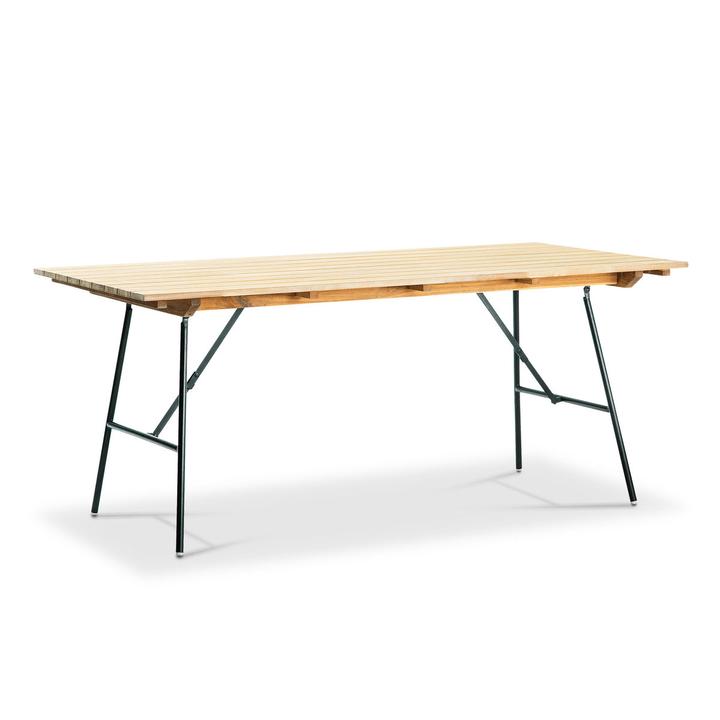 VERNON Table pliante 368007225401 Dimensions L: 180.0 cm x P: 90.0 cm x H: 76.0 cm Couleur Acacia Photo no. 1