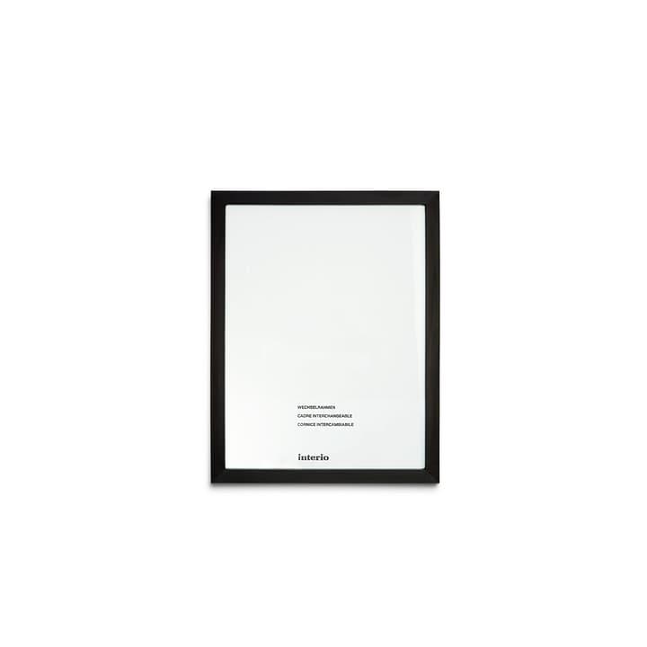 QUADROLINO Cadre interchangeable 384000545580 Dimensions images 21 x 29,7 (A4) Couleur Noir Photo no. 1