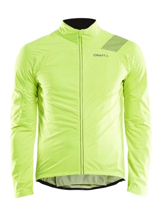 Verve Herren-Bike-Regenjacke Craft 461357800455 Farbe neongelb Grösse M Bild-Nr. 1