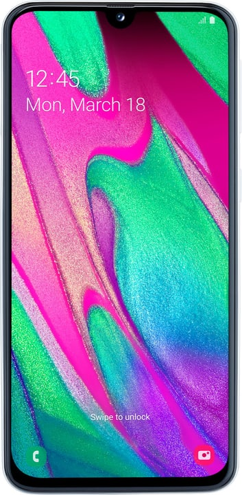 Galaxy A40 Weiss Smartphone Samsung 794641300000 Bild Nr. 1