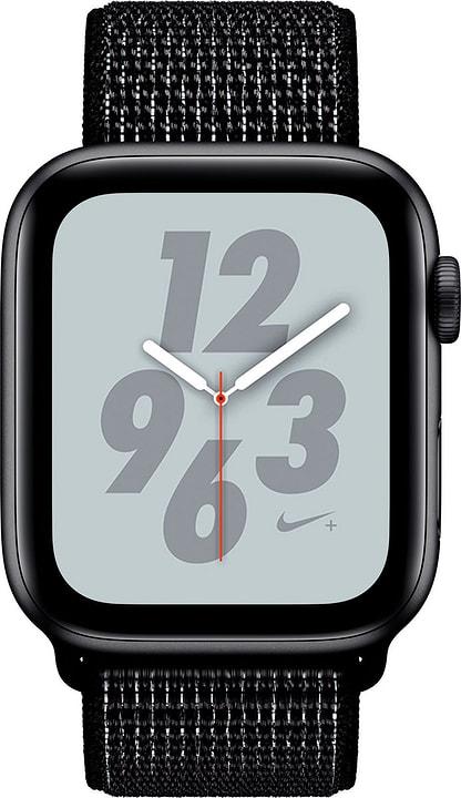 Watch Nike+ 44mm GPS space gray Aluminum Black Nike Sport Loop Smartwatch Apple 798457900000 Photo no. 1