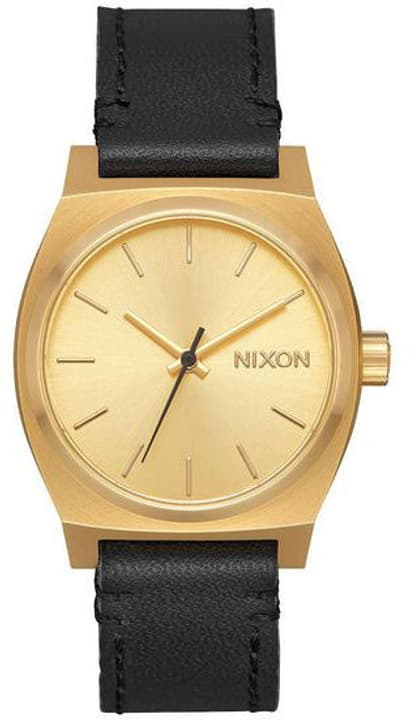 Medium Time Teller Leather Gold Black 31 mm Orologio da polso Nixon 785300136991 N. figura 1