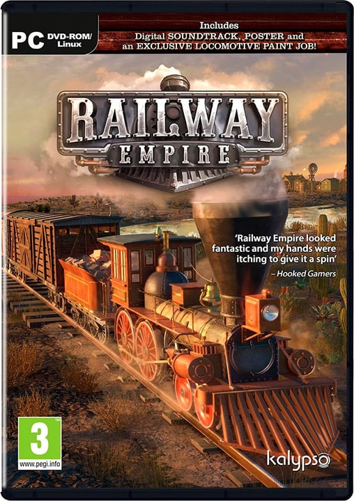 PC - Railway Empire - F/I Physique (Box) 785300131666 Photo no. 1