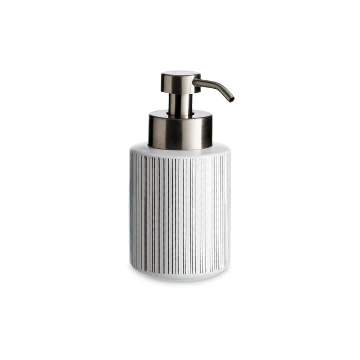 LEO distributore di sapone 374137700310 Dimensioni A: 8.0 cm Colore Bianco N. figura 1