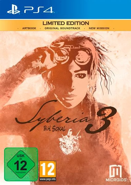 PS4 - Syberia 3 Limited Edition (D) Physisch (Box) 785300133923 Bild Nr. 1