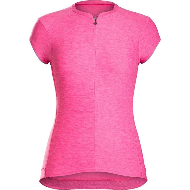 Vella women`s cycling jersey Maillot à manches courtes pour femme Bontrager 461356300429 Couleur magenta Taille M Photo no. 1