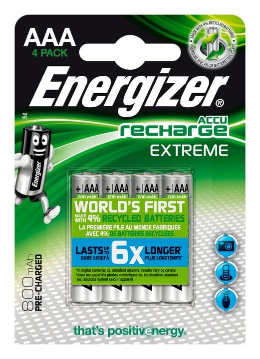"""NiMH-Accu Extreme,  Micro (AAA) 800 mAh, 4 pièce"" Energizer 704764500000 Photo no. 1"