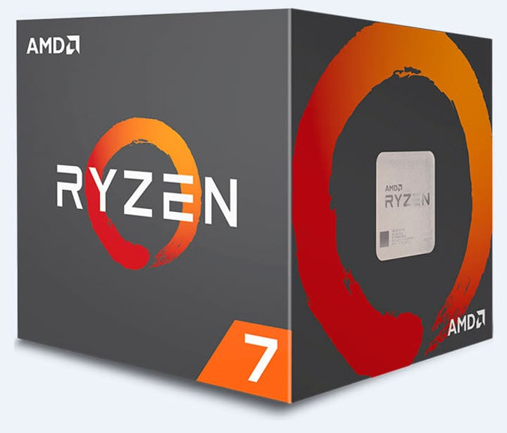 Processore Ryzen 7 1700 8x 3.0 GHz AM4 boxed AMD 785300129031 N. figura 1