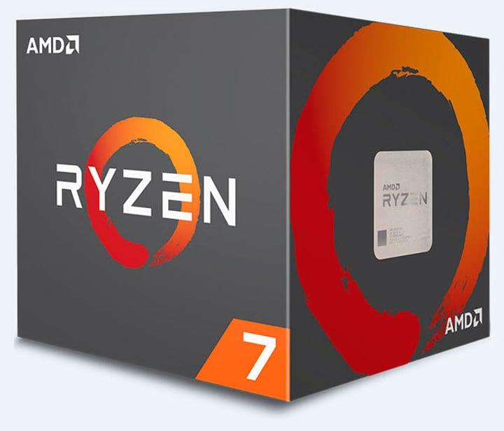Prozessor Ryzen 7 1700 8x 3.0 GHz AM4 boxed AMD 785300129031 Bild Nr. 1