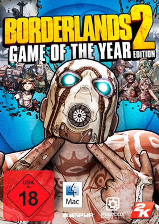 Mac - Borderlands 2-Game Of the Year ED Download (ESD) 785300133566 N. figura 1