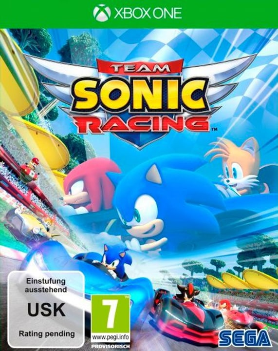 Xbox One - Team Sonic Racing Box 785300138611 Langue Français Plate-forme Microsoft Xbox One Photo no. 1