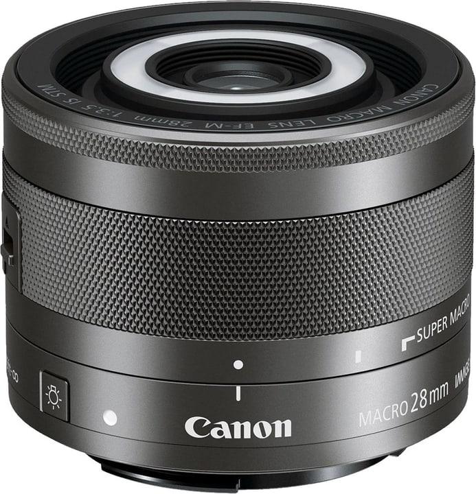 EF-M 28mm f/3.5 IS STM Makro Objectif Canon 785300123639 Photo no. 1