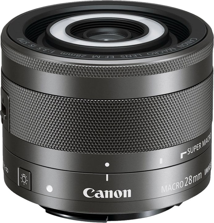 EF-M 28mm f/3.5 IS STM Makro Canon 785300123639 Photo no. 1