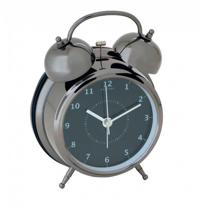 Sveglia sveglia nera 12,5 cm tu NexTime 785300138461 N. figura 1
