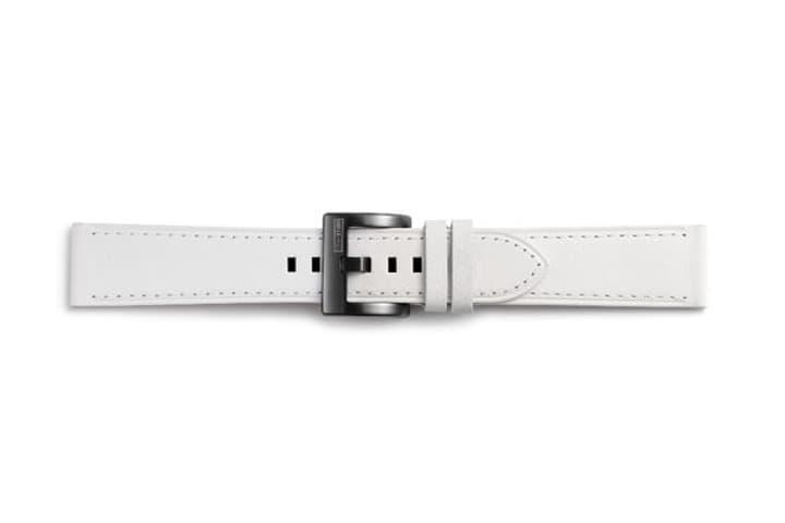 Galaxy Watch (42 mm) Strap Studio Classic Leather Strap 20 mm blanche Bracelet Samsung 785300138276 Photo no. 1