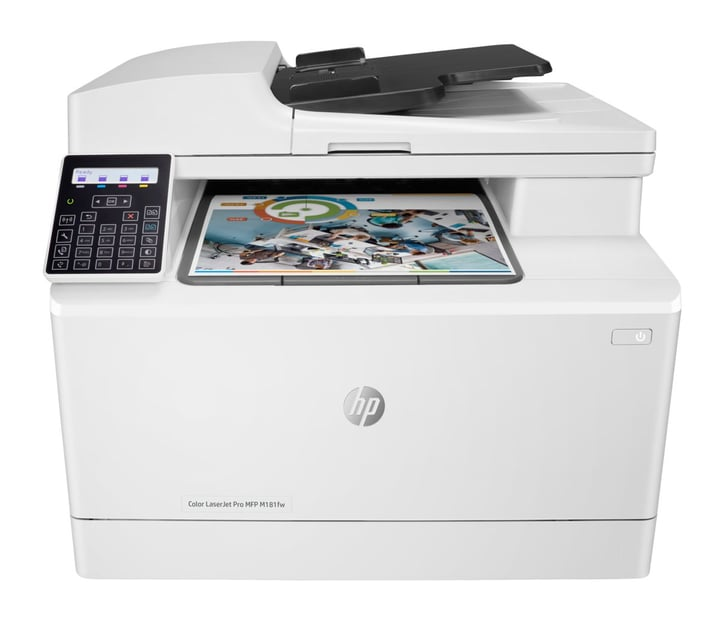 Color LaserJet Pro MFP M181fw Imprimante / scanner / copieur / télécopie HP 797279100000 Photo no. 1