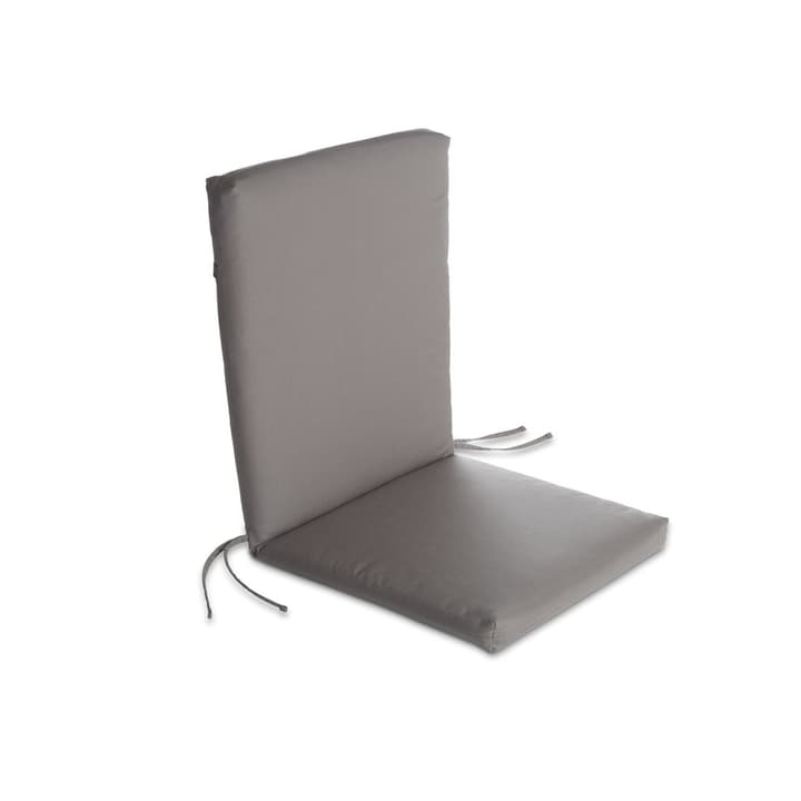 MILOU Coussin d'assise 378039400000 Couleur Gris Dimensions L: 50.0 cm x P: 98.0 cm x H: 7.0 cm Photo no. 1