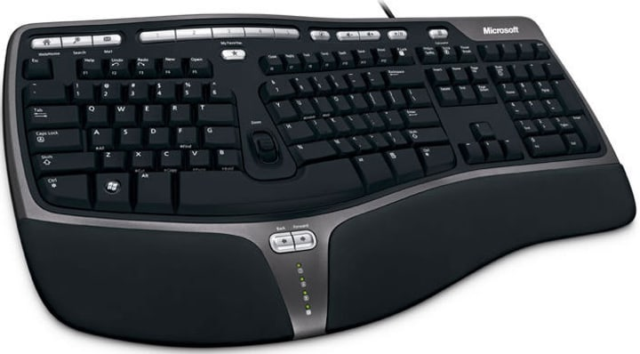 Microsoft Natural Ergo. Keyboard 4000 Tastatur Microsoft 797244000000 N. figura 1
