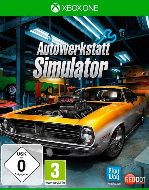 Xbox One - Autowerkstatt Simulator D Box 785300144308 Photo no. 1