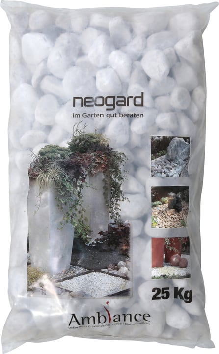Kies Bianco Carrara 25 kg 647507800000 Bild Nr. 1
