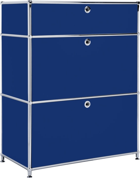 FLEXCUBE Buffet 401814710240 Dimensions L: 77.5 cm x P: 40.0 cm x H: 100.0 cm Couleur Bleu Photo no. 1