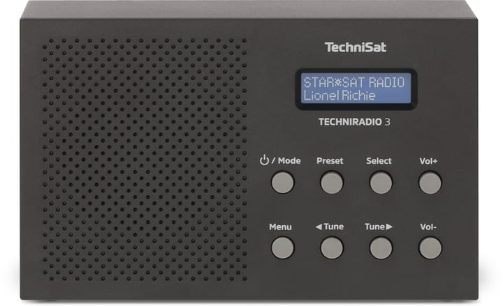 Techniradio 3 - Noir Radio DAB+ Technisat 785300149721 Photo no. 1