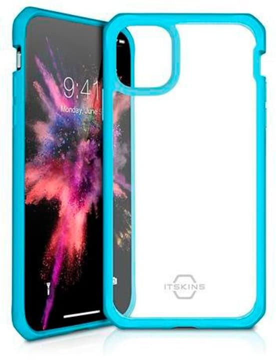Hard Cover HYBRID SOLID blue transparent Custodia ITSKINS 785300149369 N. figura 1