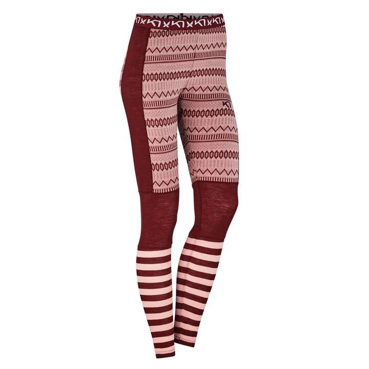 Akle Damen-Unterhose lang Kari Traa 477090500488 Farbe bordeaux Grösse M Bild-Nr. 1