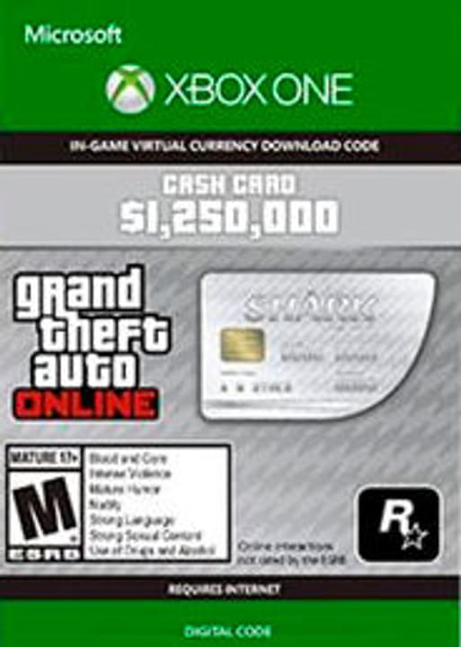 Xbox One -Grand Theft Auto V: Great White Shark Card Digitale (ESD) 785300135618 N. figura 1
