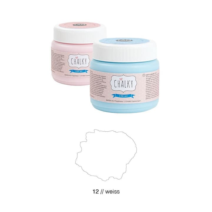 Chalky I AM CREATIVE 665640400000 Couleur Blanc Photo no. 1
