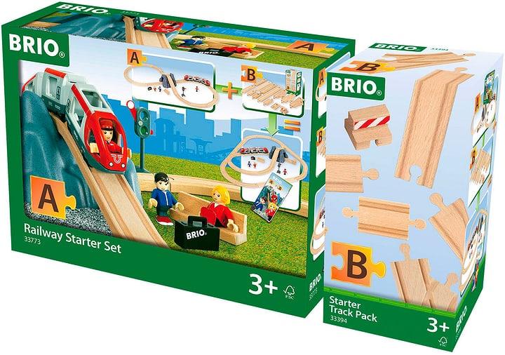 Brio Bahn und Schienen Starterset 747656200000 Bild Nr. 1
