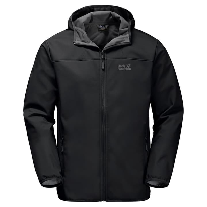 NORTHERN POINT MEN Veste softshell pour homme Jack Wolfskin 462706300520 Couleur noir Taille L Photo no. 1