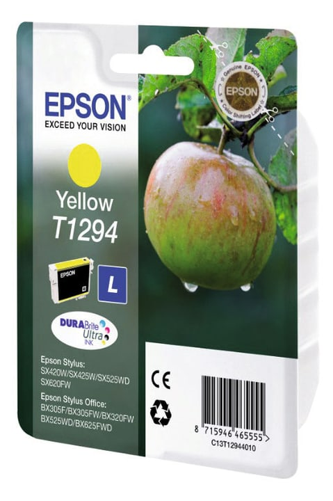 T129440 yellow Tintenpatrone Epson 797520200000 Bild Nr. 1
